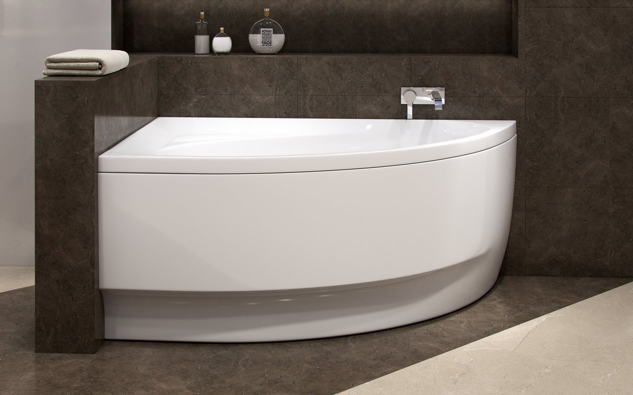 Aquatica Idea-R-Wht Corner Acrylic Bathtub picture № 0