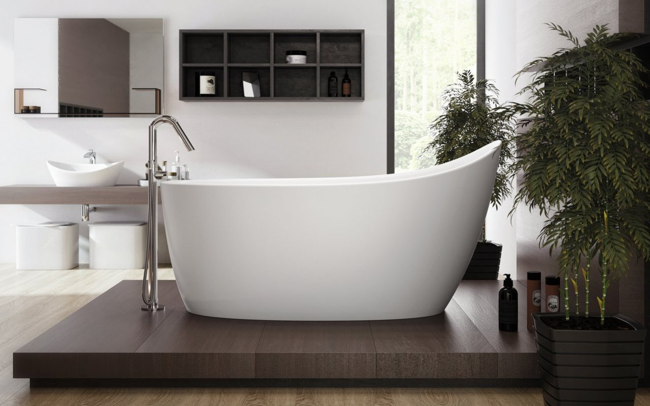 Aquatica Emmanuelle 2 Freestanding Solid Surface Bathtub picture № 0