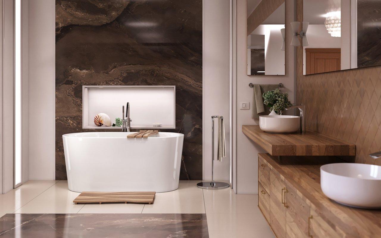 Purescape 014a freestanding acrylic bathtub by Aquatica 02 (web)