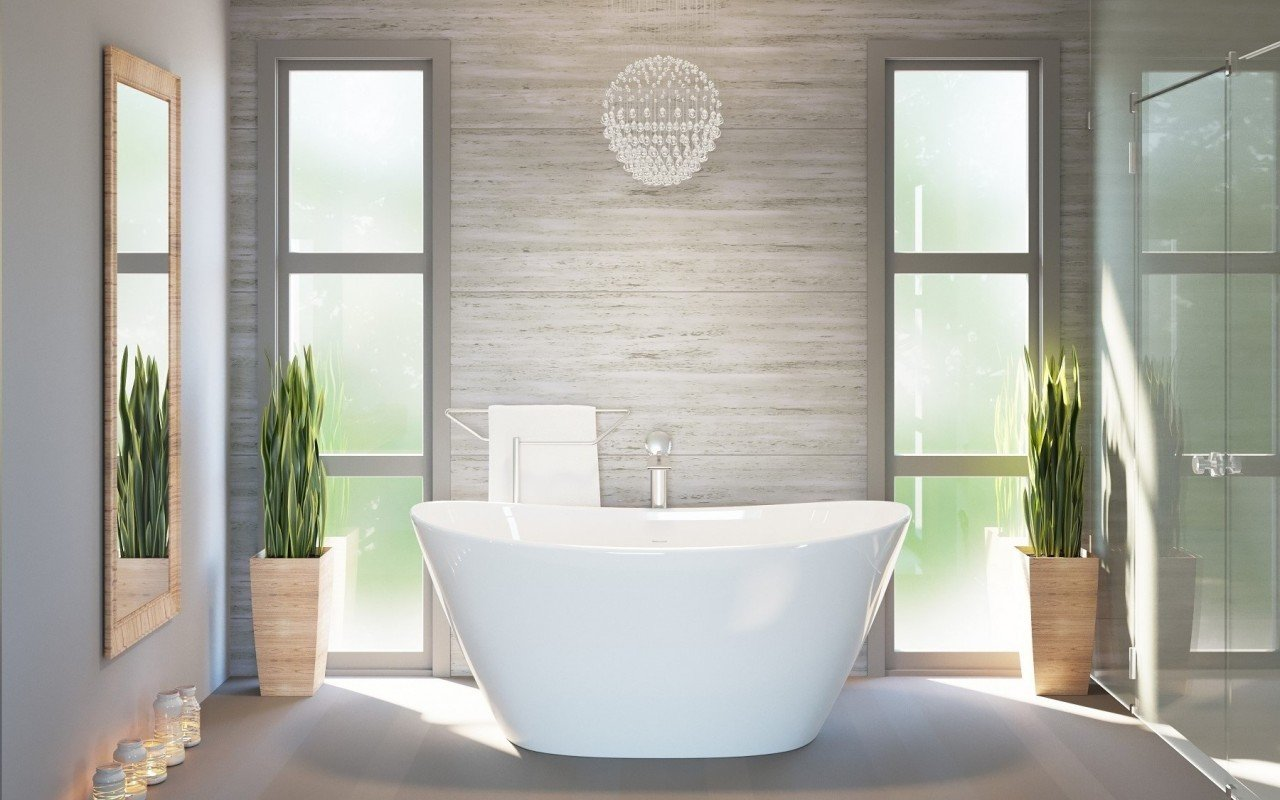 Purescape 748 Glossy Freestanding Slipper Stone Bathtub 01 web