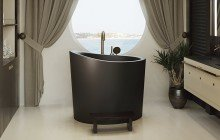 Aquatica True Ofuro Mini Black Freestanding Stone Bathtub 11 (web)