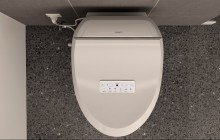 USPA 7035 Comfort Hygienic Electronic Bidet Seat with Remotely Controlled Wash Function (1 1) (web)