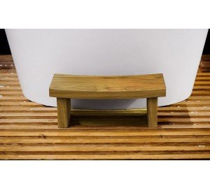 Aquatica True Ofuro Waterproof Teak Safety Step 01 (web)