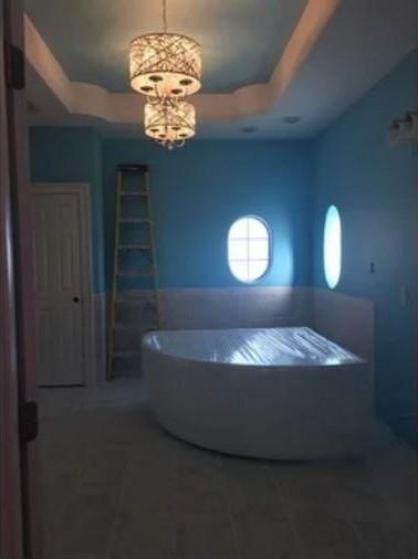 Aquatica Cleopatra Wht Corner Acrylic Bathtub