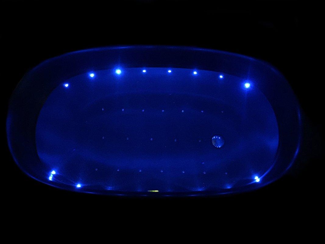 Aquatica Sophia Black Relax Air Massage Freestanding Solid Surface Bathtub Fine Matte Customer Images 2 01