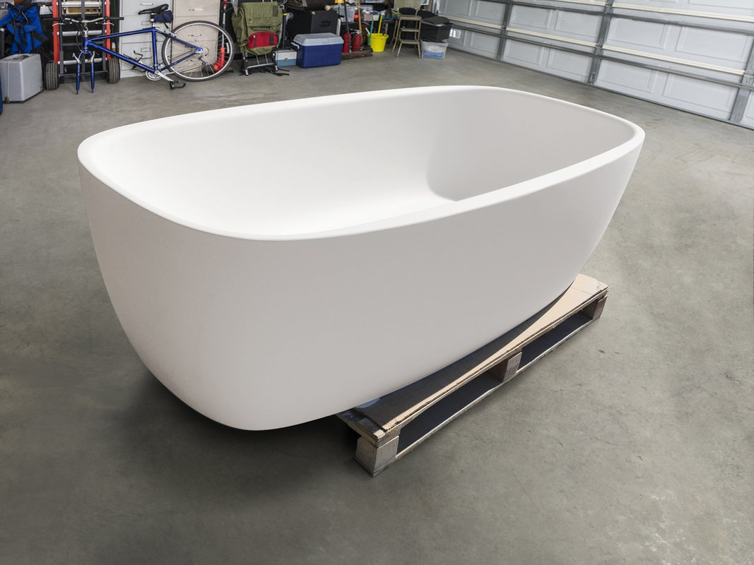 Aquatica coletta white freestanding solid surface bathtub customer images 03 (web)